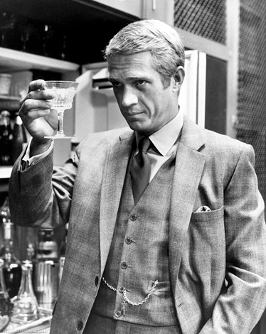 Thomas Crown (Steve McQueen) in The Thomas Crown Affair  Read more- Style Icons from Cool Movies - 20 Best Dressed Characters in Film - Esquire  Follow us- @Esquiremag on Twitter | Esquire on Facebook  Visit us at Esquire.com
