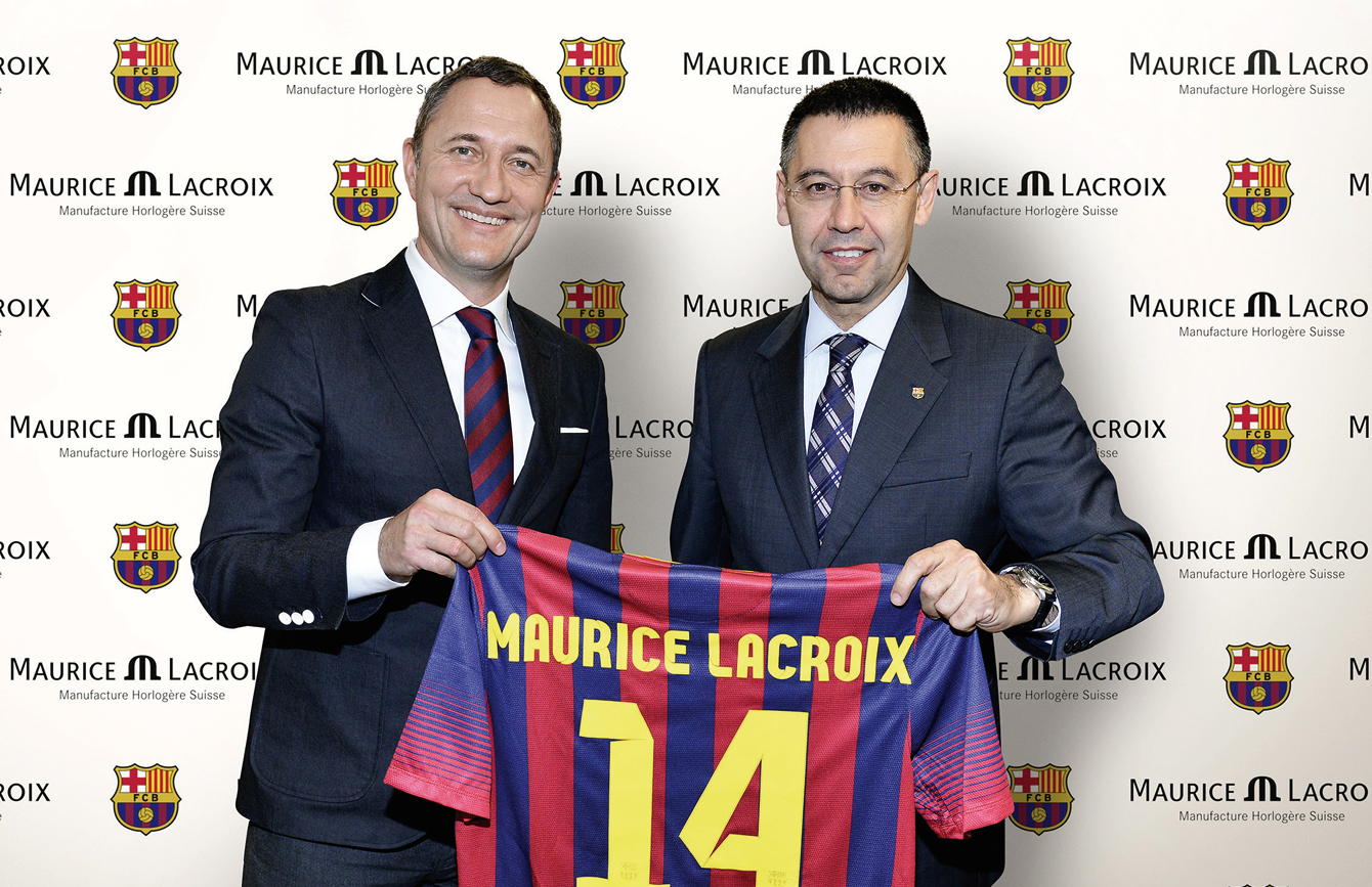 Maurice Lacroix Official FC Barcelona Watch Partner