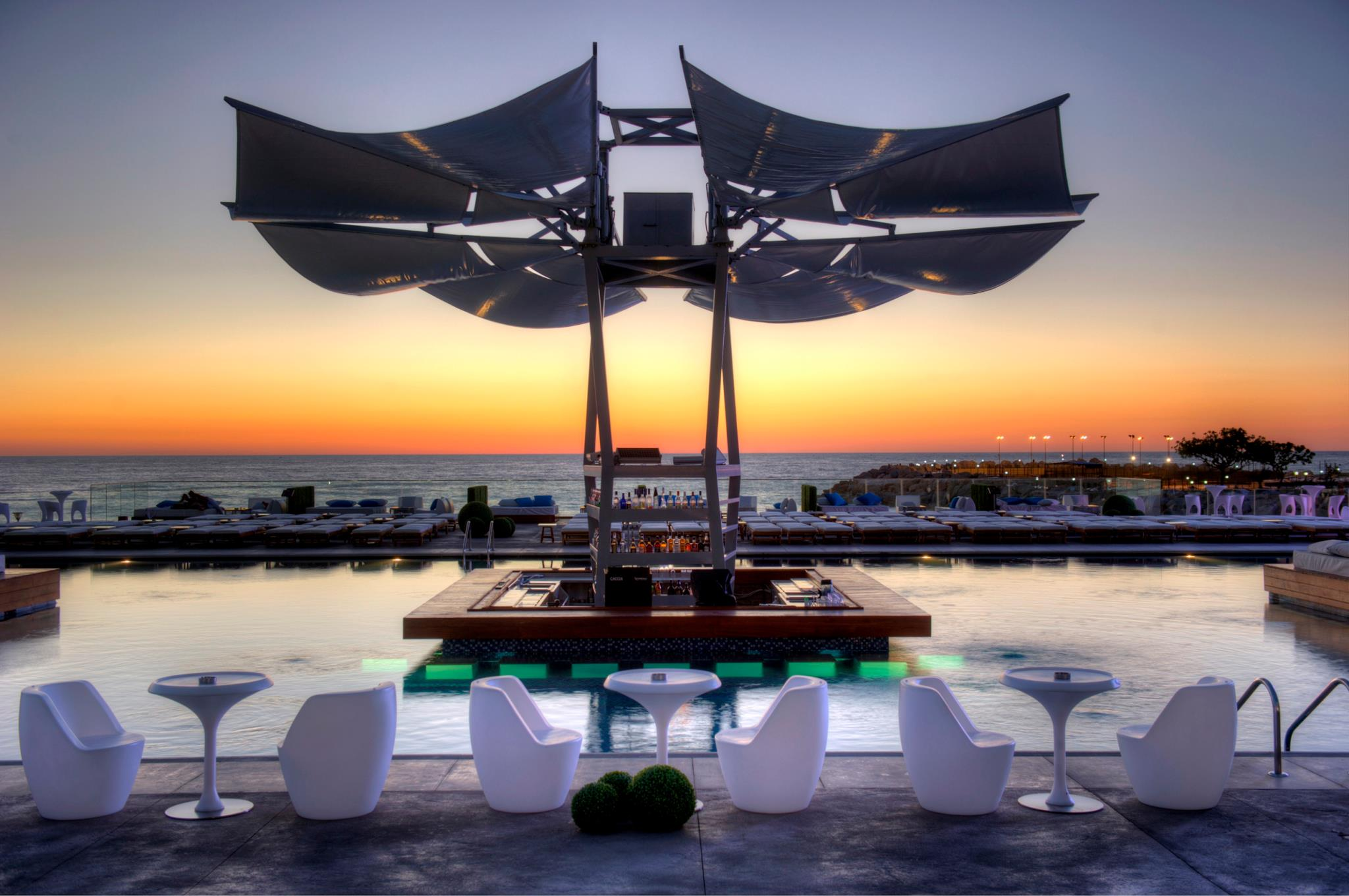 Top 10 beach resorts bars lebanon smf for Best beach boutique hotels