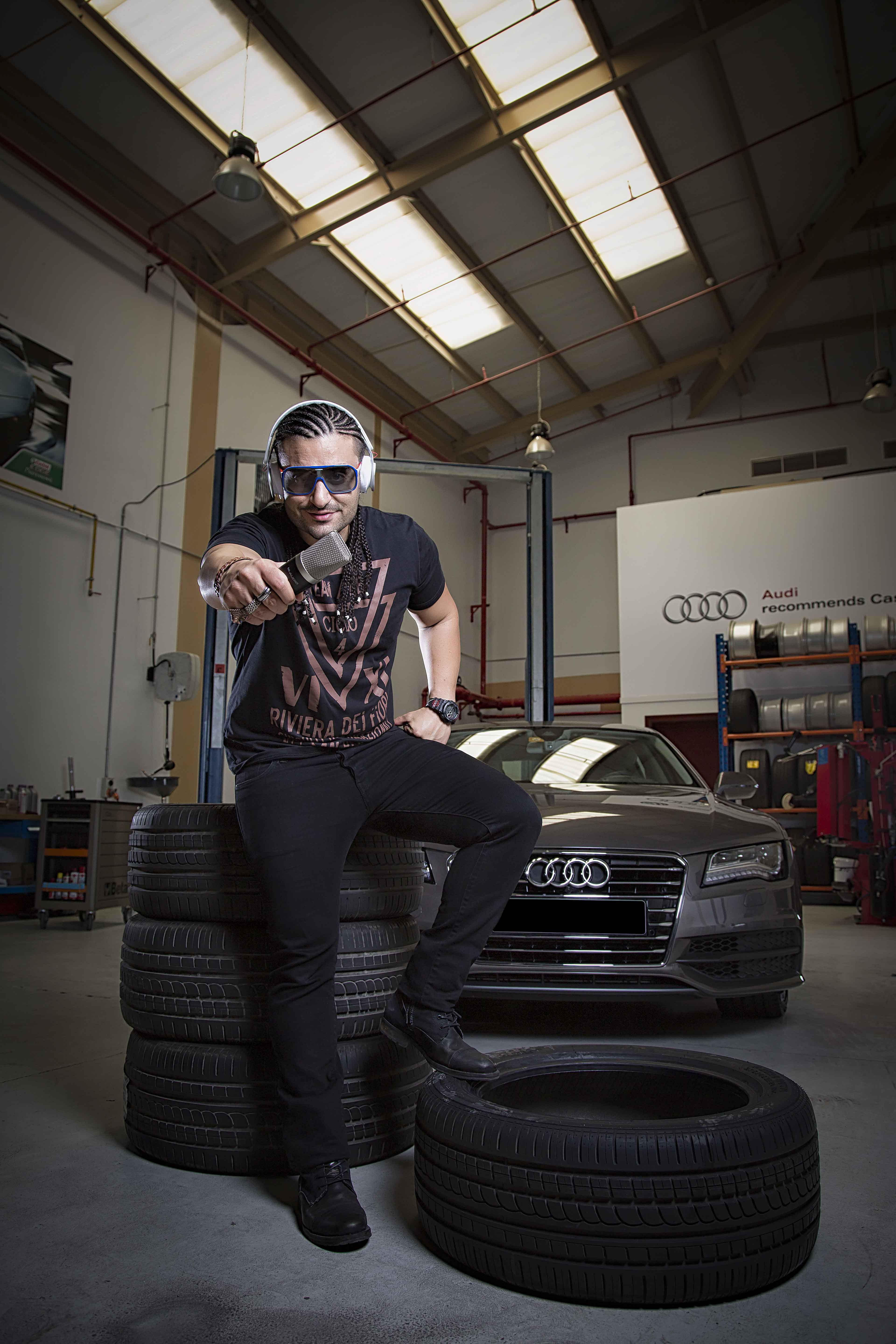 Kris Fade and the Audi A7 Sportback 1