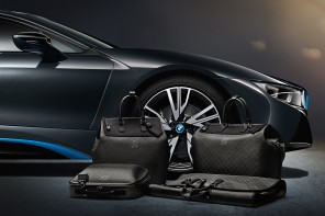 Louis Vuitton Tailor-Made Luggage for the BMW i8