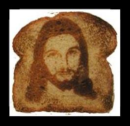 Jesus on toast[11]