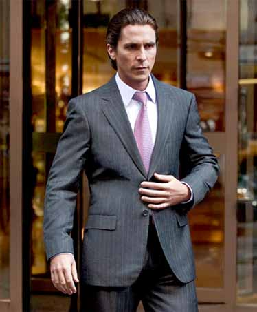 Bruce Wayne (Christian Bale) in The Dark Knight  Read more- Style Icons from Cool Movies - 20 Best Dressed Characters in Film - Esquire  Follow us- @Esquiremag on Twitter | Esquire on Facebook  Visit us at Esquire.com