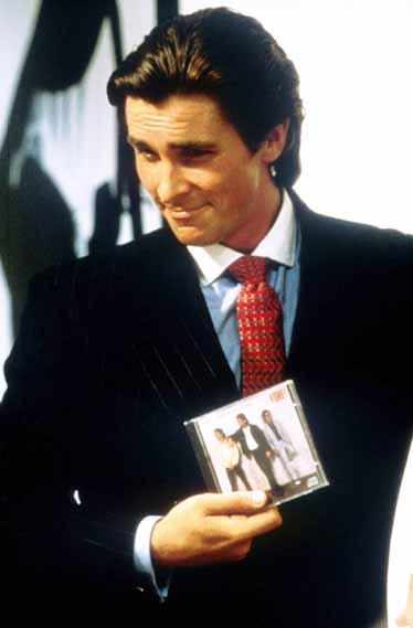 Patrick Bateman (Christian Bale) in American Psycho