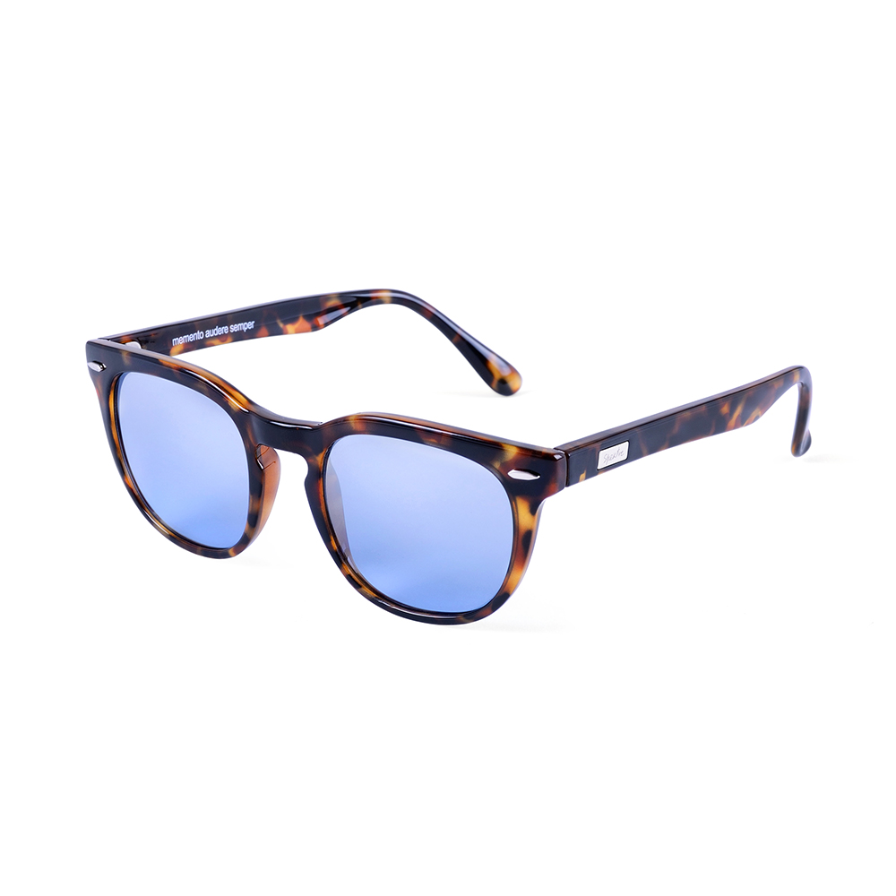 Classic Tortoise + Light Blue Mirrored Lenses (Aspen) Spektre